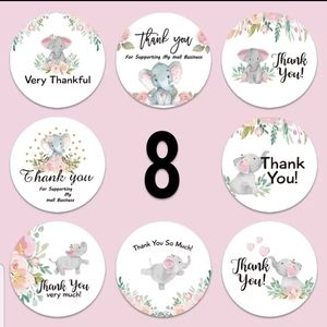 "🆕️""Thank you"" stickers"